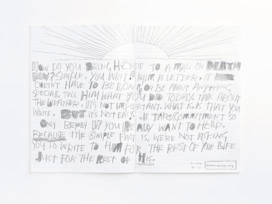 Human Writes Print Ad -  Hope