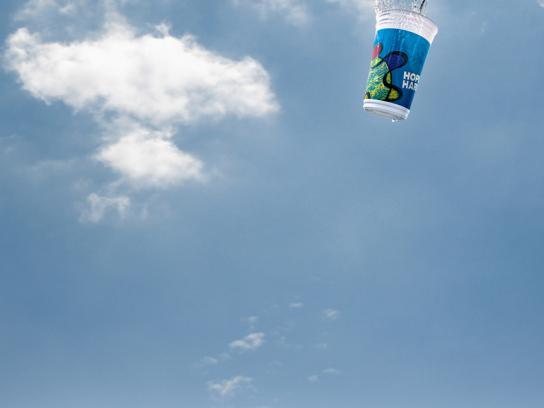 Hopi Hari Theme Park Print Ad -  Cup