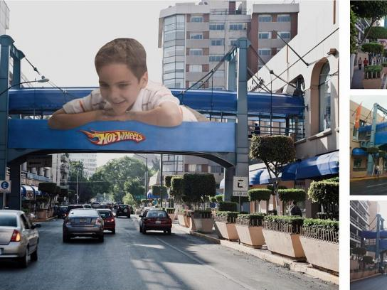 Hot Wheels Outdoor Ad -  Big Boy