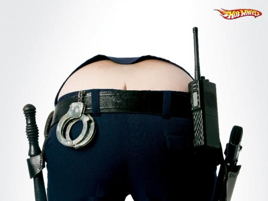 Hot Wheels Print Ad -  Police
