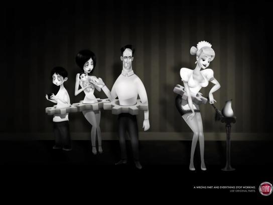 Fiat Print Ad -  Hot Maid