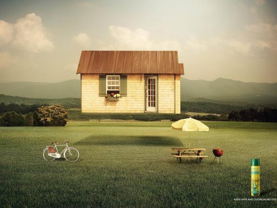 Orphea Print Ad -  House