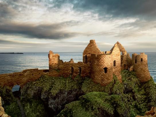 Hovis Print Ad -  Castle