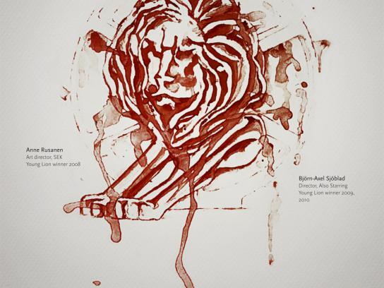 Kärkimedia Print Ad -  Blood, sweat and tears