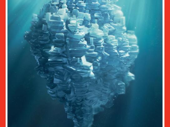 HSBC Print Ad -  Iceberg, Car