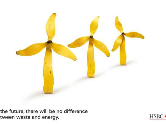HSBC Print Ad -  Banana