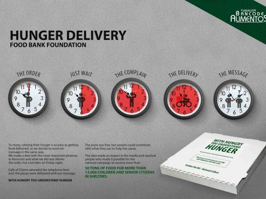 Fundacion Banco De Alimentos Direct Ad -  Hunger Delivery
