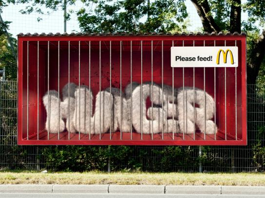 McDonald's Outdoor Ad -  Hunger