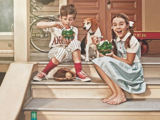 Hidden Valley Ranch Print Ad -  Stairs