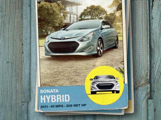 Hyundai Print Ad -  Sonata Hybrid Card