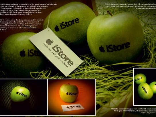 iStore Direct Ad -  Fresh apples