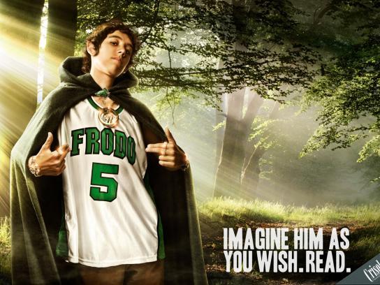 Crisol Bookstore Print Ad -  Dj Frodo
