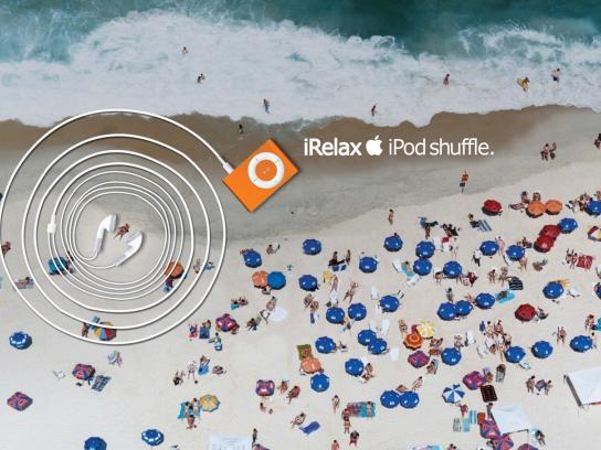 iPod Print Ad -  iRelax