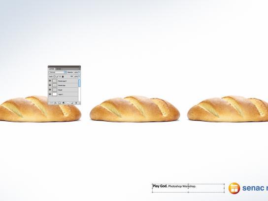 Senac Rio Print Ad -  Bread