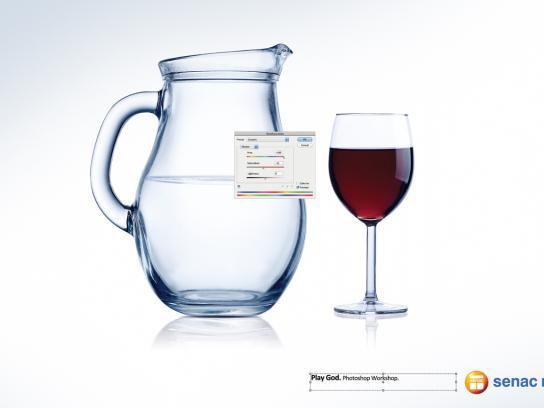 Senac Rio Print Ad -  Wine