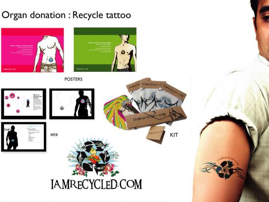 Recycle Tattoo