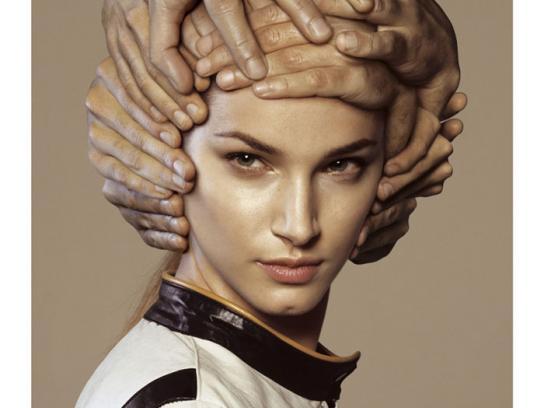 Bye Helmets Print Ad -  Girl