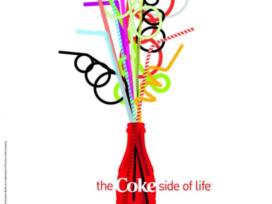 Coca-Cola Print Ad -  Coke side of life, 2