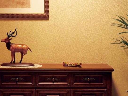 Nestle Print Ad -  Statue