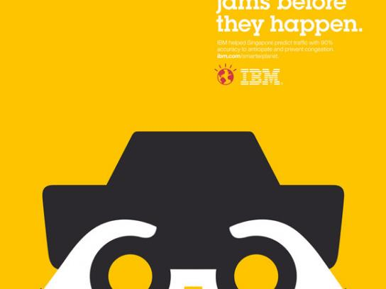 IBM Print Ad -  Smarter Planet, Wheels