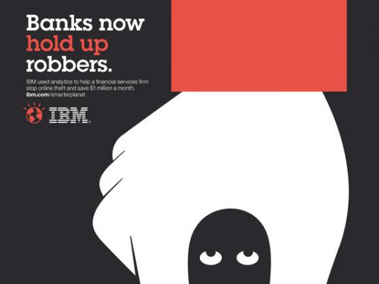 IBM Print Ad -  Smarter Planet, Hold up