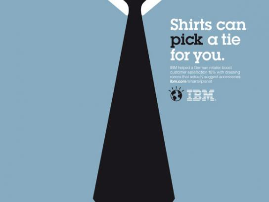 IBM Print Ad -  Smarter Planet, Neck tie