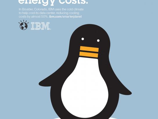 IBM Print Ad -  Outcomes energy