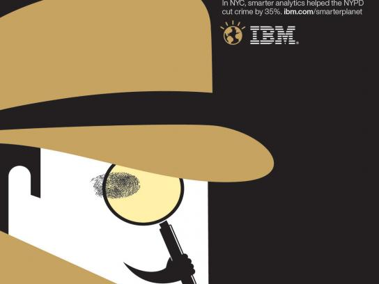 IBM Print Ad -  Outcomes NYPD