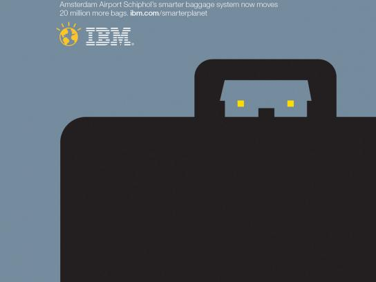IBM Print Ad -  Outcomes suitcase