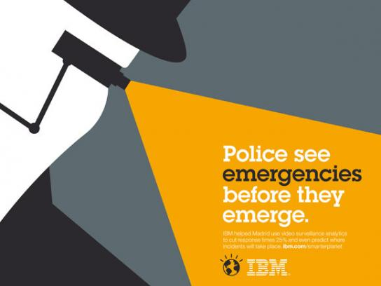 IBM Print Ad -  Smarter Planet, Camera