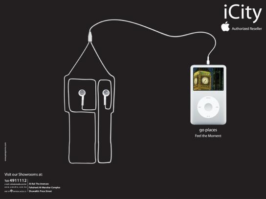 iCity Print Ad -  UK