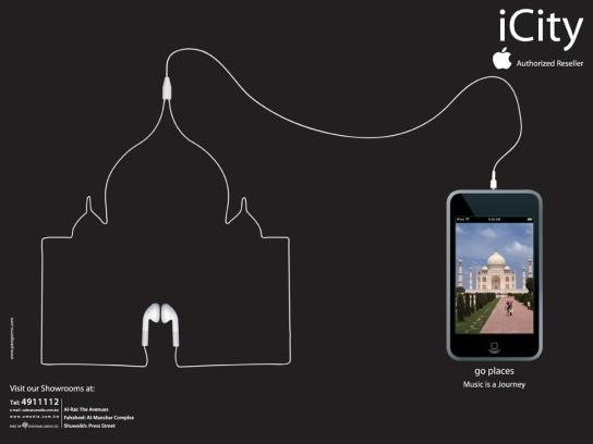 iCity Print Ad -  India
