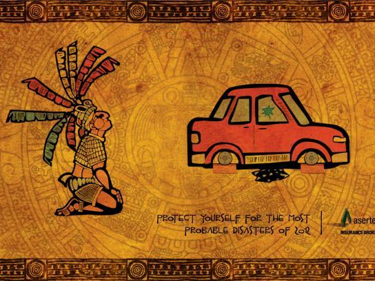 Asertec Print Ad -  Maya Cars