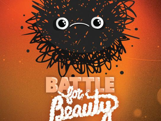 Microsoft Print Ad -  Battle for beauty, 2