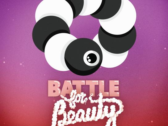 Microsoft Print Ad -  Battle for beauty, 1