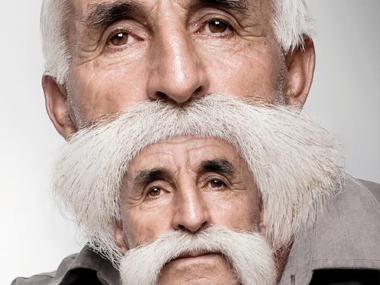 Image Hair Group Print Ad -  Hairbeard, 1