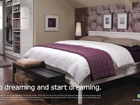 IKEA Print Ad -  Dreaming