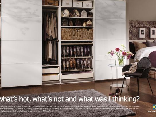 IKEA Print Ad -  Hot