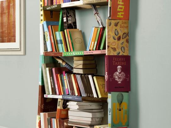 IKEA Print Ad -  Bookcase