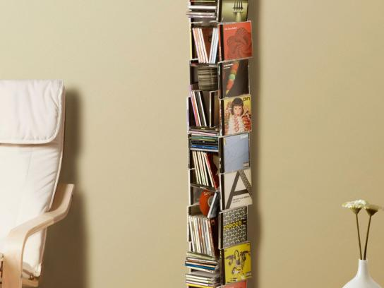 IKEA Print Ad -  CD Rack