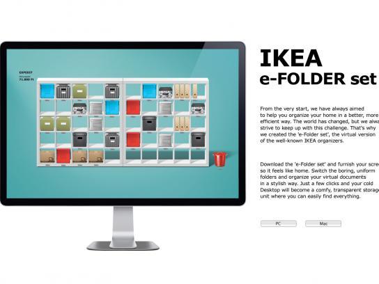 IKEA Digital Ad -  Organize your desktop