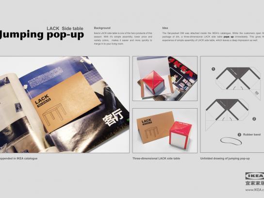 IKEA Direct Ad -  Pop-up