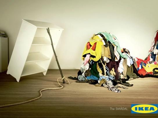 IKEA Outdoor Ad -  Clothesbeast
