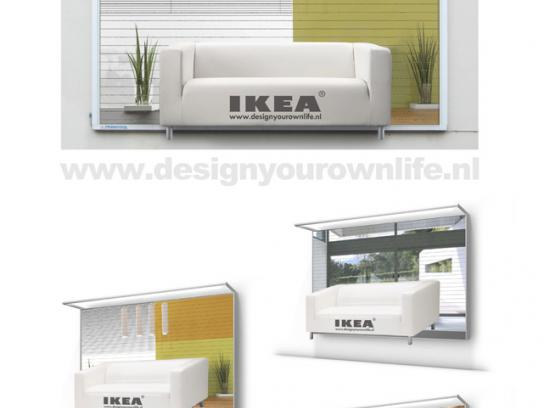 IKEA Outdoor Ad -  Design your own life