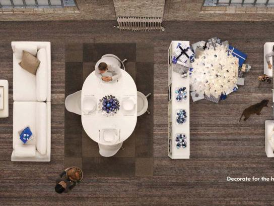 IKEA Print Ad -  Decorate for the holidays, 2