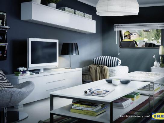 IKEA Print Ad -  Living room