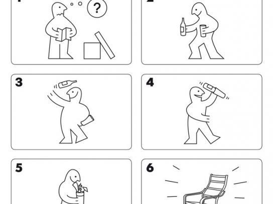 IKEA Print Ad -  Poang