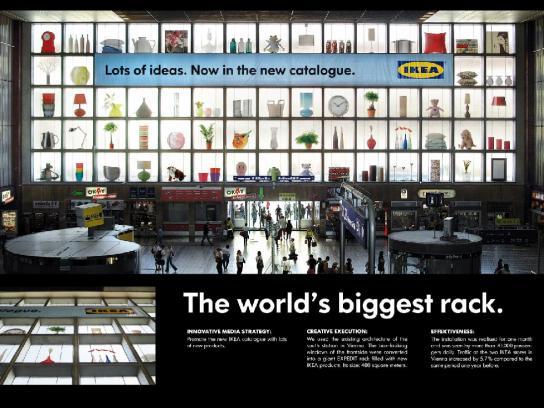 IKEA Outdoor Ad -  Rack