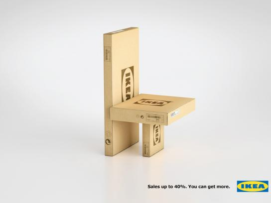 IKEA Print Ad -  Sales, Chair