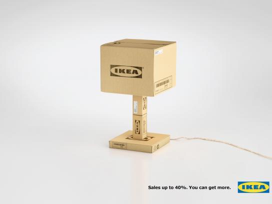 IKEA Print Ad -  Sales, Lamp